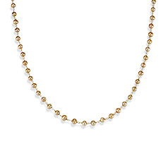 Perle Gold Kette